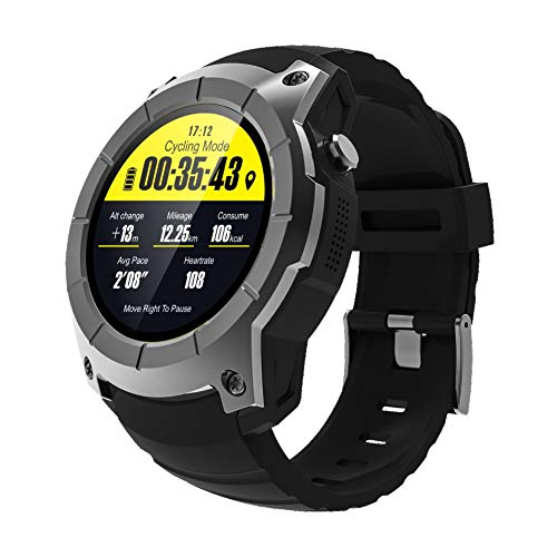 RONSHIN Unisex Adult Sport Watches S958 Bluetooth Smart Watch Support GPS Air Pressure Call Heart Rate As Shown by RONSHIN