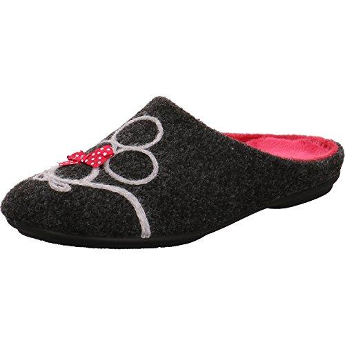 Garzón Women's 5515.279 Slippers Antracita-Fucsi kC8b6
