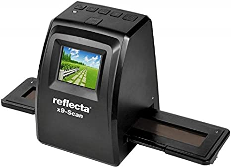 Reflecta x9-Scan Film/Slide Scanner 1800 x 1800DPI Negro - Escáner ...