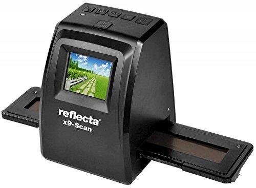 Reflecta x9-Scan Film/slide scanner 1800 x 1800DPI Negro - Escáner (1800 x 1800 DPI, 24 bit, Film/slide scanner, Negro, LCD, 6,1 cm (2.4)) 1 cm (2.4)) 64290