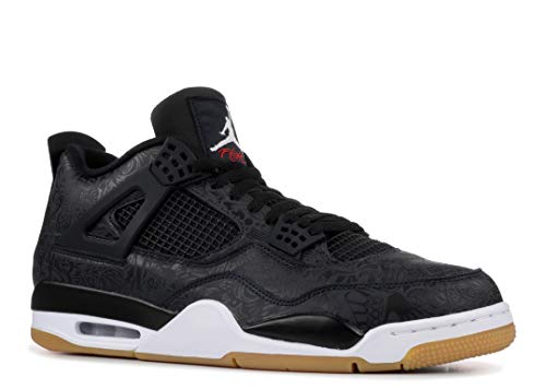5e61e7187849 Air Jordan 4 SE Retro  Laser  Black White-Gum Light Brown (12 D(M) US)