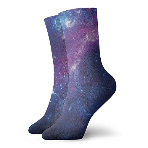Outer Space Unisex Soft Sport Crew Socks
