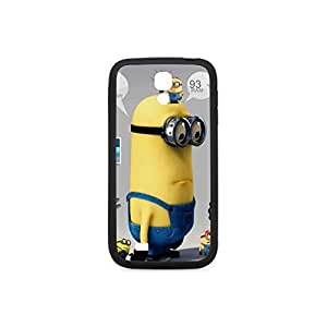 Despicable Me Cartoon Minions Plastic and TPU Case For Samsung Galaxy S4