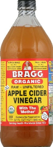 Bragg Organic Raw Apple Cider Vinegar, 32 Ounce - 3 Pack by Bragg