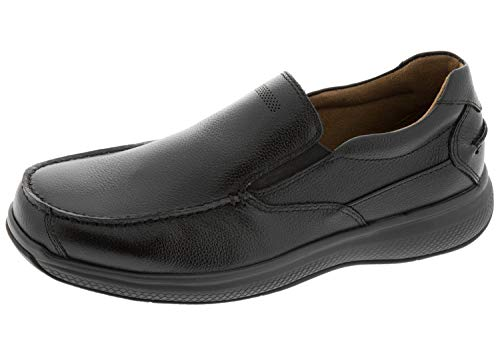 Florsheim Work Men's Bayside Steel Toe Slip-On Black 8.5 D US