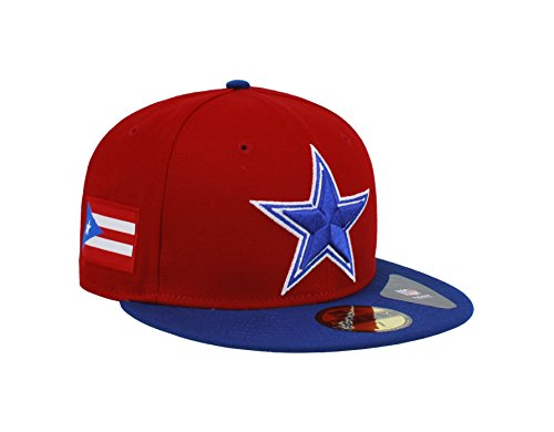 0b44fa2e5e9531 buy amazon new era 59fifty hat dallas cowboys puerto rico flag edition red  redux royal fitted