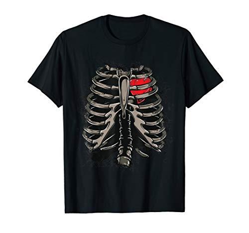 Halloween Skeleton X-Ray Heart For Radiologist Costume