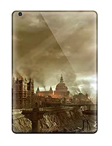 Anti-scratch And Shatterproof Hellgate London Sci Fi Post Apocalyptic People Sci Fi Phone Case For Ipad Air/ High Quality Tpu Case