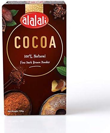 العلالي بودرة الكاكاو 100 غرام Amazon Ae