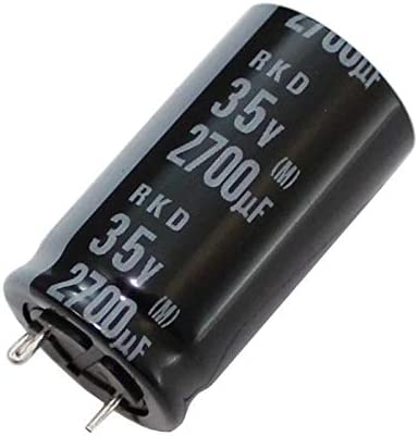 5x Electrolytic Capacitor radial 2700µF 35V 125°C ; RKD-35V272MK7GY-F56 2700uF