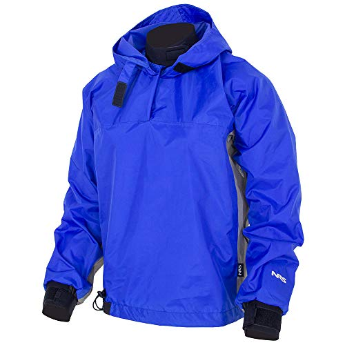 NRS Hooded Rio Top Paddle Jacket Blue XXL