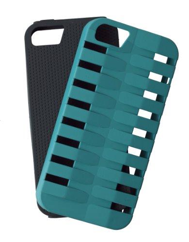 Case Logic CL5601K/GY Etui en polycarbonate pour iPhone 5 Noir/Gris