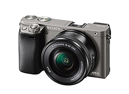 Sony Alpha a6000 Mirrorless Interchangeable-lens Camera w/ 16-50mm lens - Gray