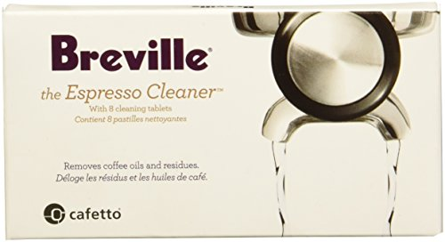 Breville BEC250 Breville BEC250 8-Pack Espresso Cleaning Tablets, White
