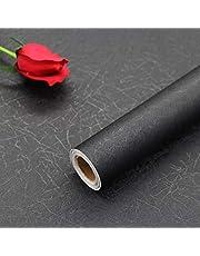 Hode Zijde zelfklevend behang reliëf meubelsticker Peel en Stick Verwijderbare decoratieve Vinyl Film Roll voor woonkamer slaapkamer aanrecht plank waterdicht 40 x 200 cm