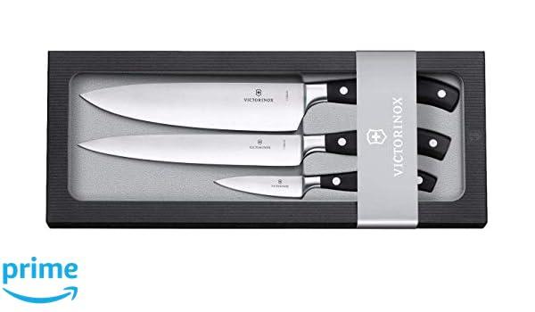 Compra Victorinox Chefs Knife Set Cuchillo, Negro, Mediano ...