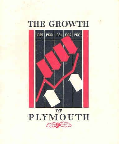 1933 Plymouth Industrial Growth Brochure