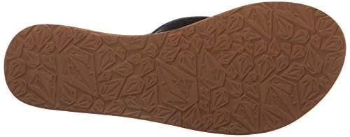 Sandal Black Women's Volcom Sandal Ramble dress xwIRTOU