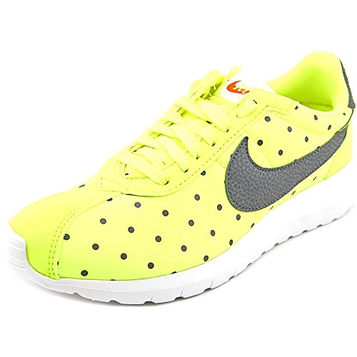 Nike Womens Roshe LD-1000 Print Athletic Sneaker Shoes-Volt/Cool Grey
