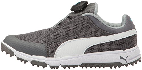 94335d4b8fb61 Puma Golf Unisex-Kids Puma Grip Sport JR. Disc Golf-Shoes, Quiet ...