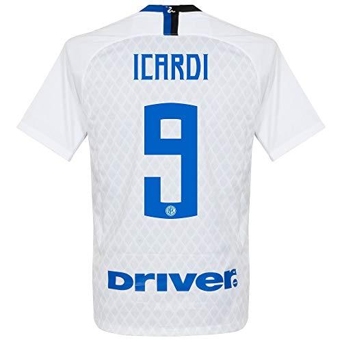 Nike Inter Milan Away Icardi 9 Jersey 2018/2019 (Official Printing) - XXL