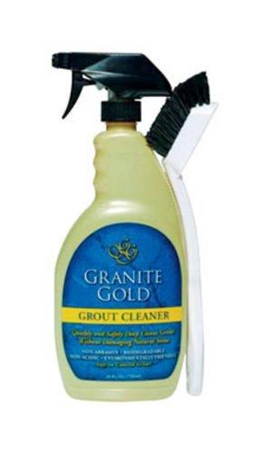Granite Gold GG0371 Grout Cleaner & Brush, 24-oz. - Quantity 6