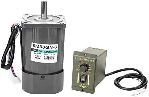 SSY-YU Acは速度でモーター、5M90GN-CギアリダクションモーターCW/CCWモーターを規制速度高は、スピードガバナAC 220V 90W(2800 RMP) 電動工具用