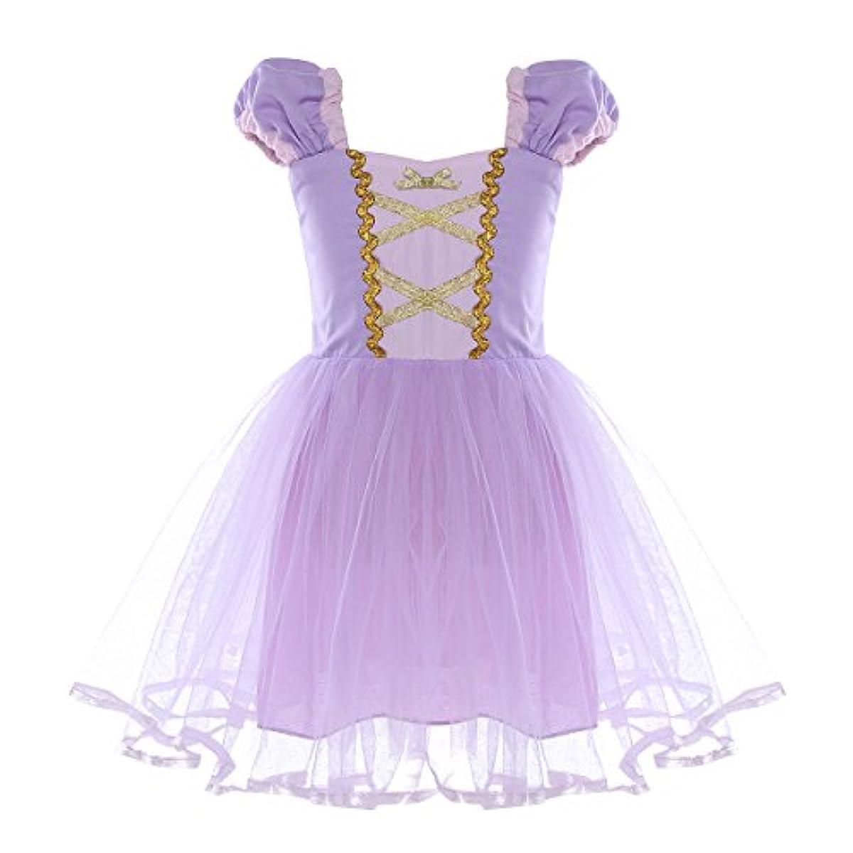 [해외] EFE(E EFF E) (E EFF E)EFE아이 프린세스 드레스 아이 드레스 키즈 아이 공주님 원피스 디즈니 공주님 드레스 소녀 변신(나리키리) 키즈 드레스 lavender110