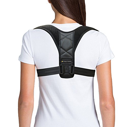 Posture Corrector, Back and Chest Support, Training Brace for Kids, Men and Women, Improves Posture Shoulder Brace Clavicle Support Provides Relieve from Neck,Back,and Shoulder Pain, Fit 27~40 Chest