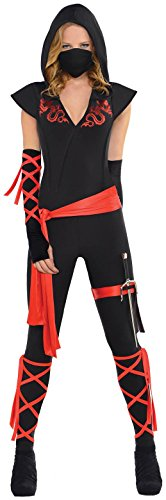 Dragon Fighter Ninja Costume - Large - Dress Size 10-12