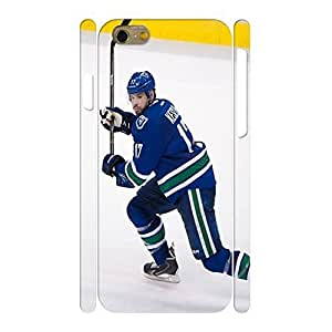 Retro Hockey Player Print Handmade Phone Accessories Shell For Ipod Touch 4 Case Cover