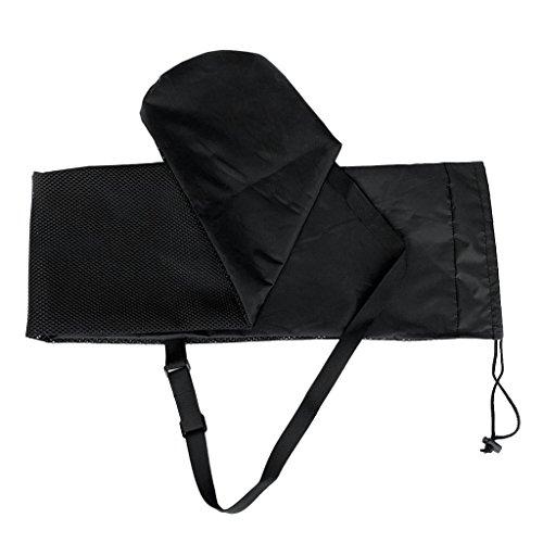 Baosity Universal Lightweight Kayak Canoe SUP Paddle Drawstring Mesh Bag Carry Pack & Shoulder Strap by Baosity (Image #4)
