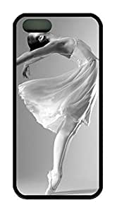 meilinF000Beautiful Ballet Dancer Theme Case for iphone 5/5s Rubber Material BlackmeilinF000