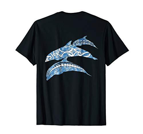 Tribal Dolphins Ocean Life T-Shirt