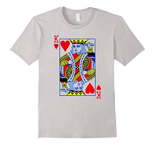 Mens King Of Hearts T-Shirt Halloween Costume Idea 2017 2XL (2017 Costumes Ideas)