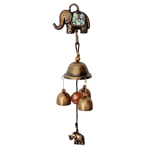 Vintage Shopkeepers Door Bell Store Entry Door Chime Unique Design Home Decoration (Elephant)