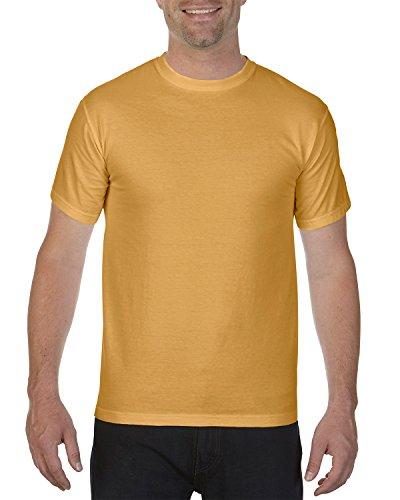 (Chouinard Men's Ring-Spun Garment-Dye Bottom Hem T-Shirt, Monarch, Medium)