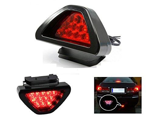A2D Triangular LED brake Flasher Light 12LED RED For Tata Safari Storme