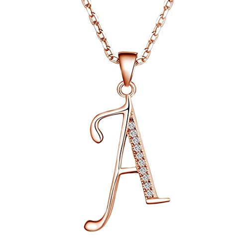 Rose Initial Charm - 4