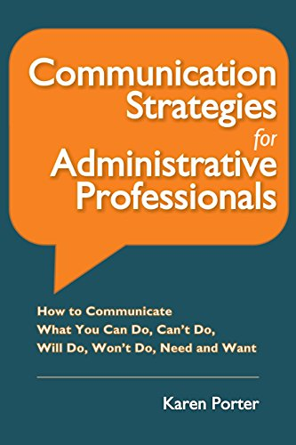 Amazon communication strategies for administrative communication strategies for administrative professionals how to communicate what you can do can fandeluxe Gallery
