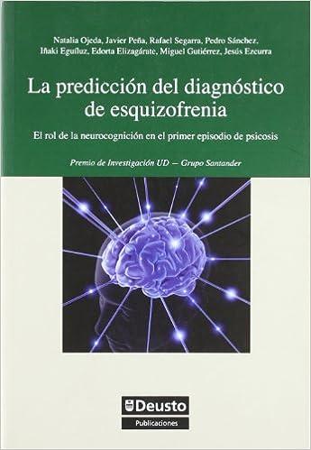 Prediccion Del Diagnostico De Esquizofrenia Psicología: Amazon.es ...