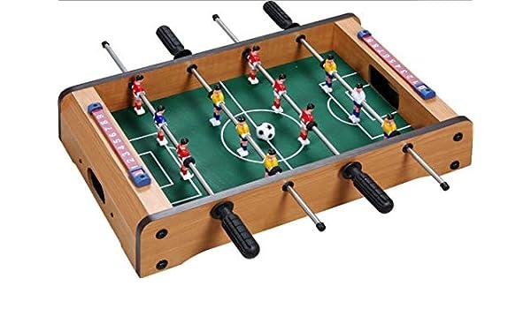 DIIYer-Bu - Mesa de fútbol para niños (Madera, para Uso en Interiores y Exteriores): Amazon.es: Hogar