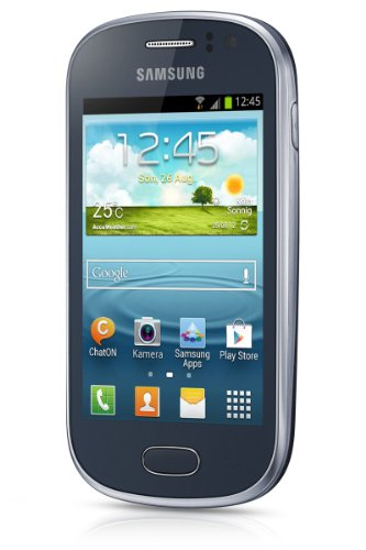 Samsung Galaxy Fame S6810 Unlocked GSM Android Smartphone - Blue