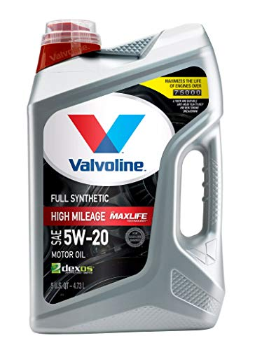 Image of Valvoline Full Synthetic High Mileage with MaxLife Technology SAE 5W-20