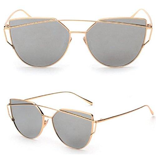 Niceskin Retro Cat Eye Sunglasses Shades for Women, Resin and Metal - Versace Vintage Sunglasses