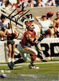 Signed Vanover, Tamarick (Kansas City Chiefs) 8x10 Photo. autographed