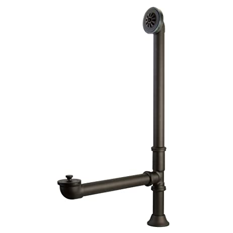 kingston brass cc2085 vintage for clawfoot tub and exposed drain application oil rubbed bronze