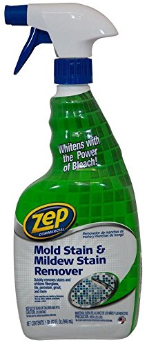 2 Pack Zep Commercial ZUMILDEW32 Mold & Mildew Stain Remover - 32-oz Bottle by Zep