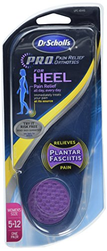 Dr. Scholl's Heel Pain Relief Orthotics, Women's 5-12, 1 Pair