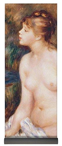 "Pixels Yoga Mat w/ Bag ""Seated Female Nude"""